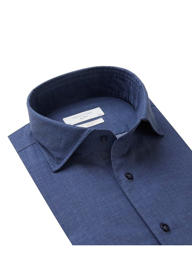 Uni Donker - Blauw Soft Constructed