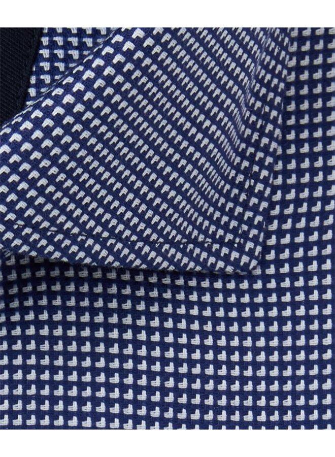 Uni Donker - Blauw Structuur High Performance