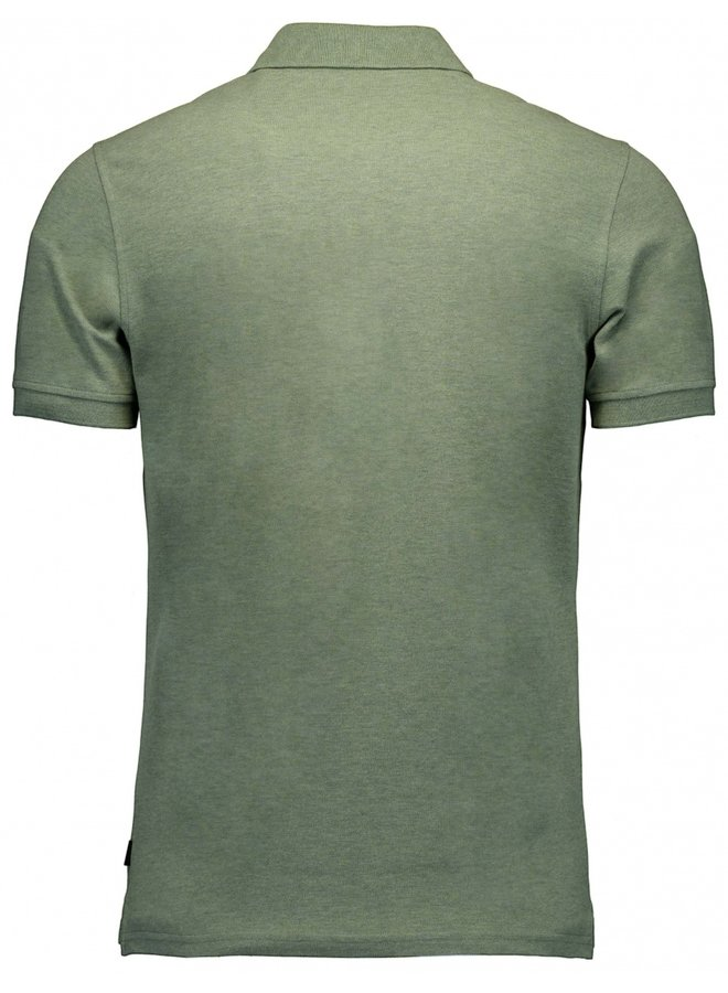 Uni Groen Melange - Stretch