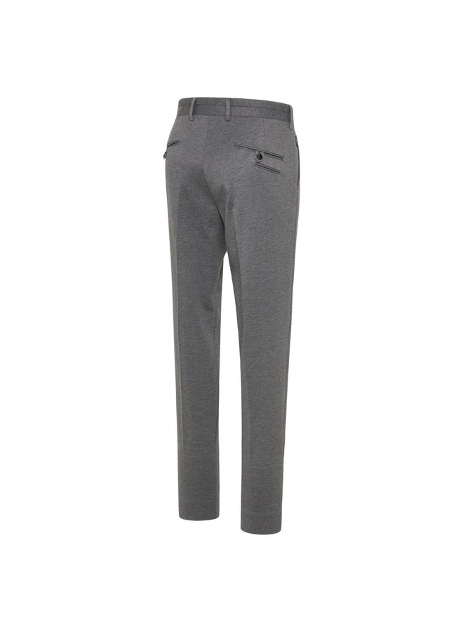 Pantalon Uni Grijs Structuur 24/7 Knitted