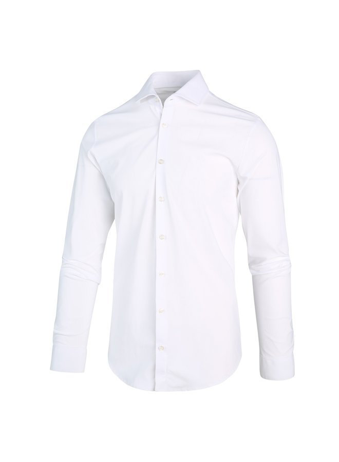 Uni Wit Lounge Jersey Knitted