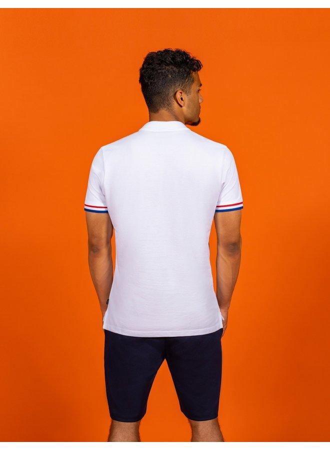 EK Oranje Thema - Uni Wit Stretch