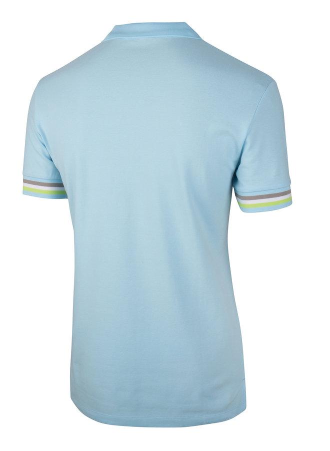 Gelato Polo - Uni Licht Blauw Stretch