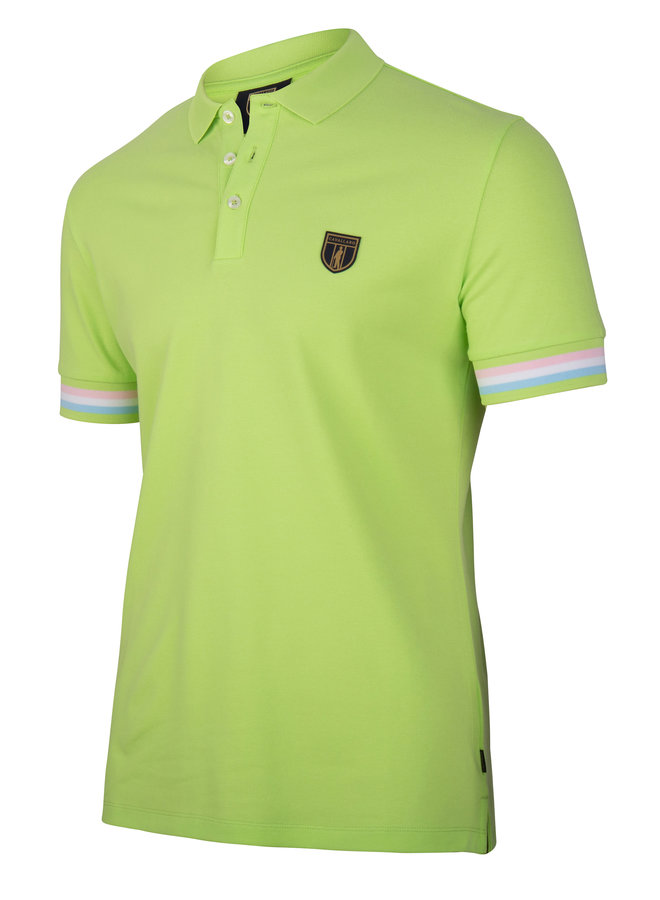 Gelato Polo - Uni Licht Groen Stretch