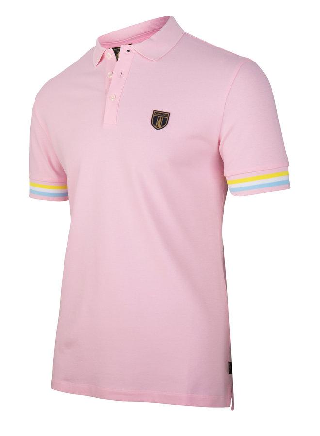 Gelato Polo - Uni Licht Roze Stretch
