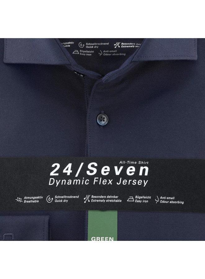 Uni Donker - Blauw 24/Seven Knitted