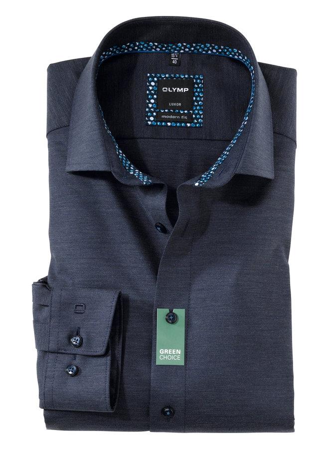 Uni Donker - Blauw Twill - Modern Fit