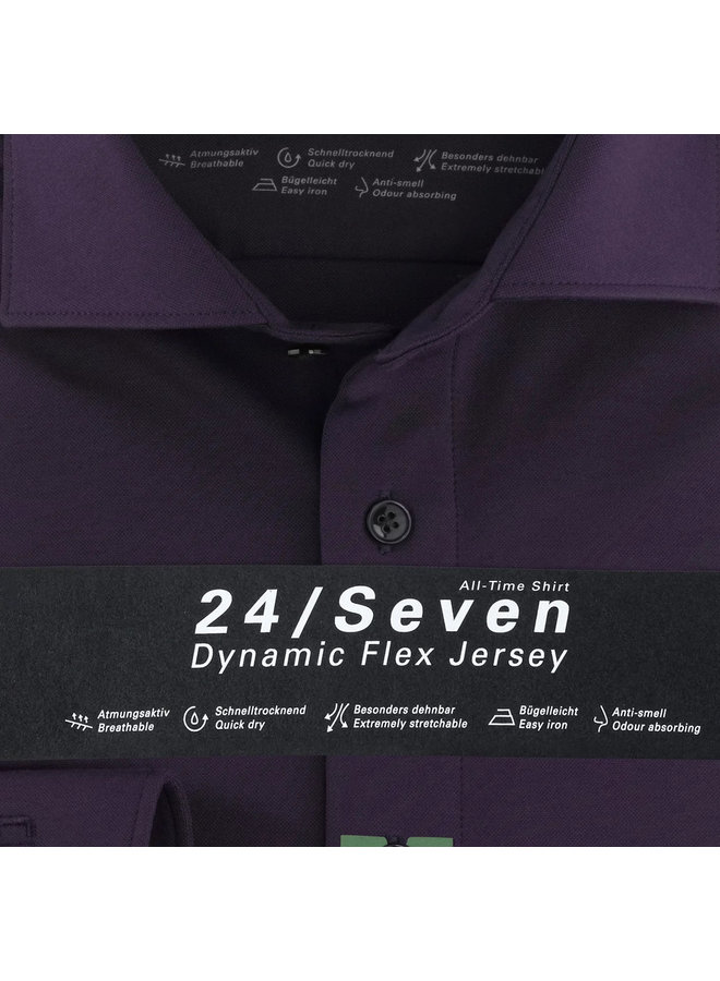 Uni Paars 24/Seven Knitted