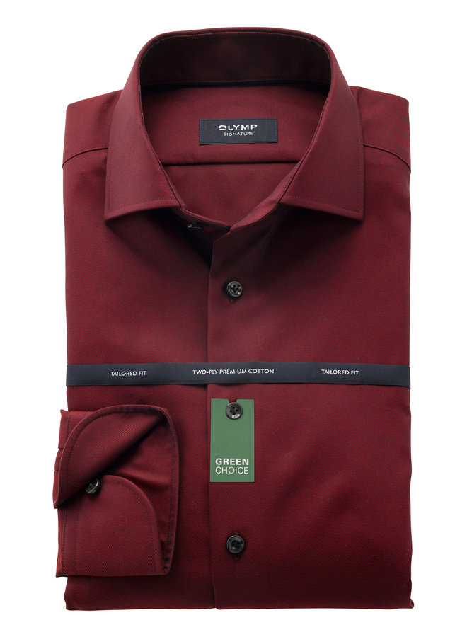 Uni Bordeaux - Rood Twill - Tailored Fit