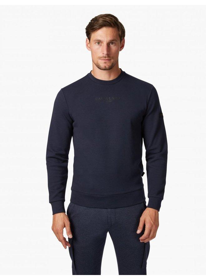 Uni Donker - Blauw  - Vallone Sweat Cavallaro