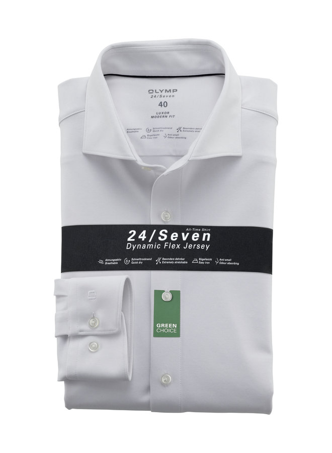 Uni Wit 24/Seven Knitted - Modern Fit