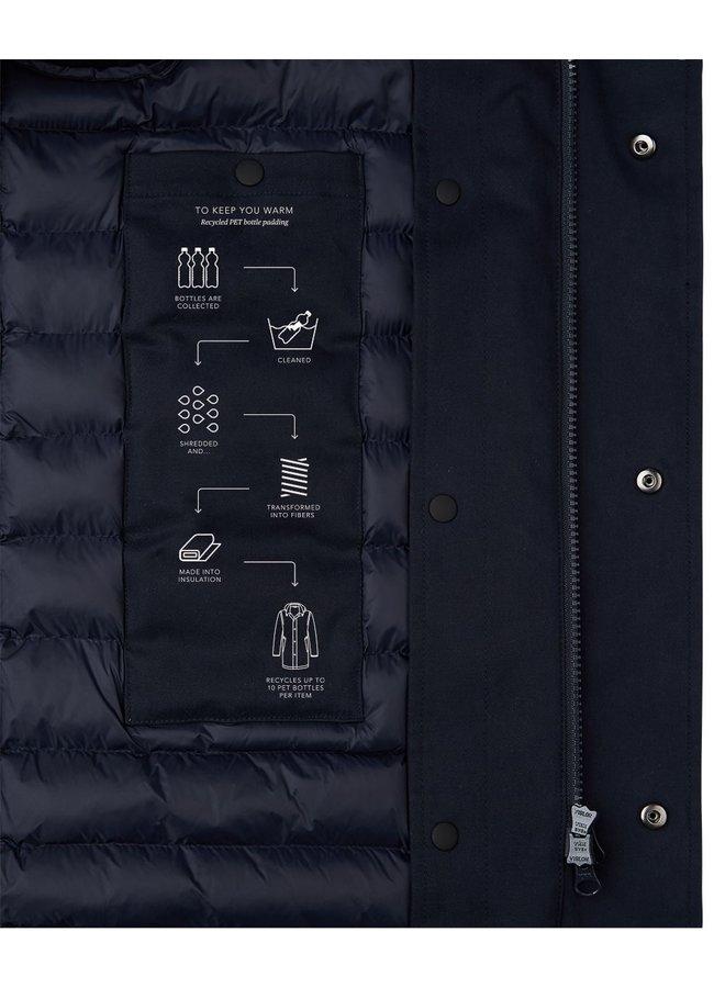 Jas Donkerblauw - Fishtail Jacket