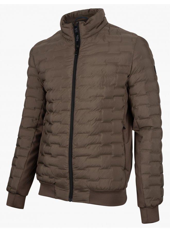 Peio Jacket- Dark Taupe