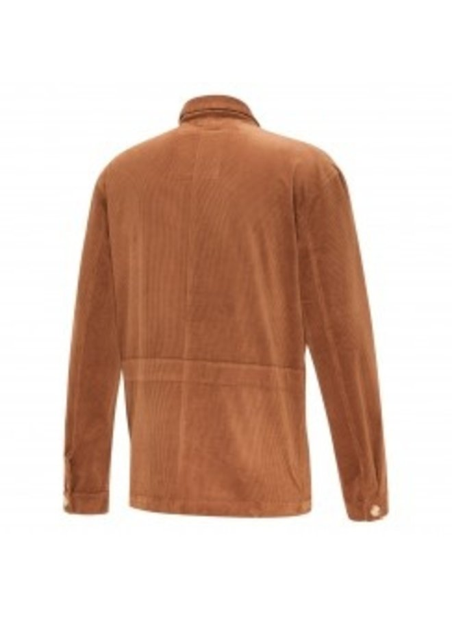 Overshirt Corduroy Cognac
