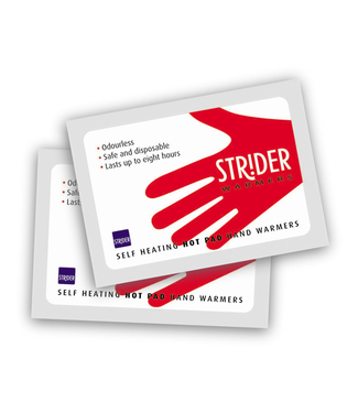 Strider Hot Pad Hand Warmer Twin Pack