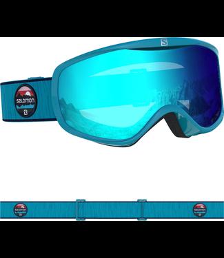 SALOMON SENSE Blue Bird/Uni Mid Blue Ladies Goggles