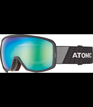 Atomic Count Jnr Spherical Black Goggle