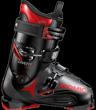 Atomic LIVE FIT 100 Black/Anthracite/Red Ski Boot