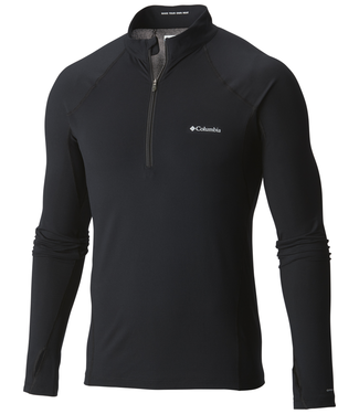 Columbia Midweight Stretch L/S 1/2 Mens Top