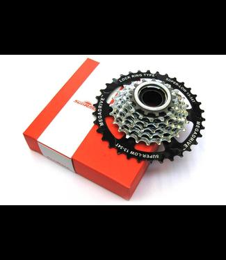 Sunrace 7 speed Megarange Freewheel 13/34T