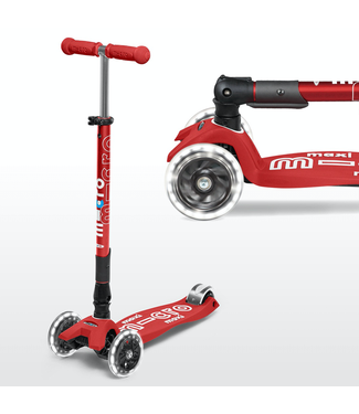Micro Maxi Deluxe Foldable LED Scooter