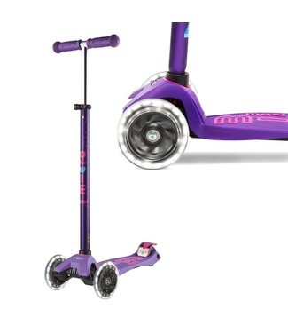 Maxi Micro Deluxe LED Scooter