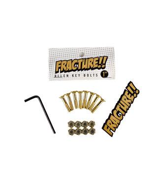 """Fracture 1"""" Gold Allen Bolts"""