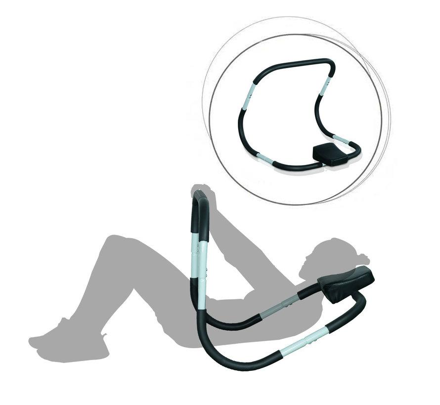 HOMCOM Buikspierentrainer Ab Roller fitnessapparaat