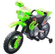 HOMCOM HOMCOM Elektrische kinderfiets Motorfiets - groen