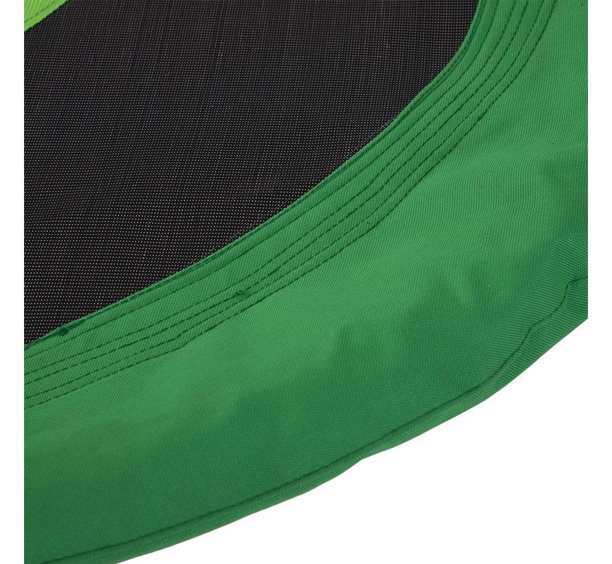 HOMCOM Nestschommel groen/zwart 100cm- Zonder frame