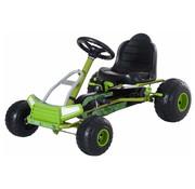 HOMCOM HOMCOM Trapauto Go Kart groen