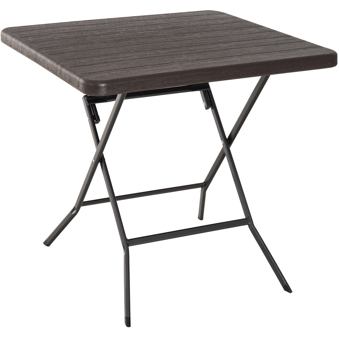 Voeg onze praktische klaptafel toe aan het balkon of terras. breng ontspannende uren door met een uitgebreid ...