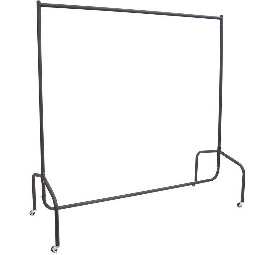 HOMCOM Kledingrek droogrek op wieltjes 150 x 60 x 150 cm