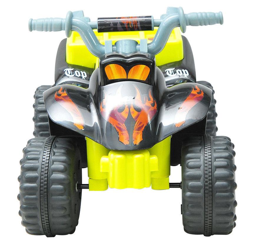 HOMCOM Kinderauto kinderfiets geel-zwart