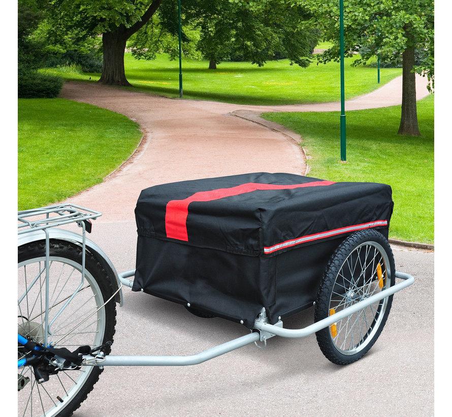 HOMCOM Transportaanhanger voor de fiets