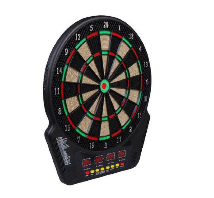 HOMCOM Elektronisch dartbord voor maximaal 16 spelers