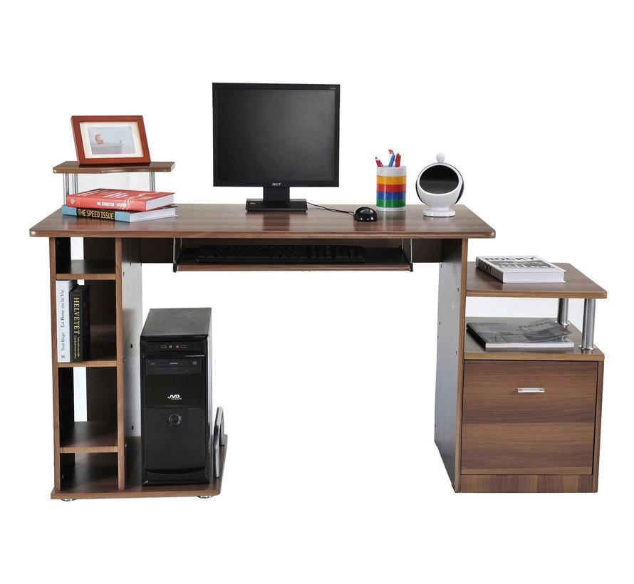 HOMCOM Bureau kantoortafel/werktafel