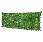 Outsunny Outsunny Privacyscherm kunstheg lichtgroen 1 x 3m