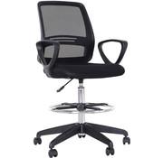 Vinsetto Vinsetto Bureaustoel voor statafel 59,5 x 60 x 102,5-126 cm