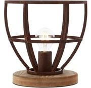 Brilliant Tafellamp Matrix XL landelijk roest metaal 60W ؘ 25 cm