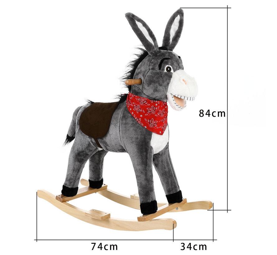 Deuba Schommelstoel kinderen ezel voor kinderen
