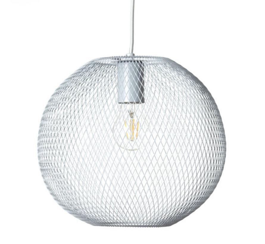 Brilliant industriële hanglamp Oana - wit