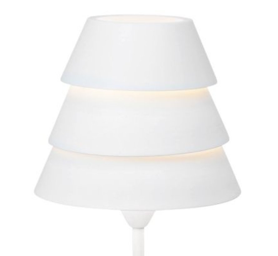 Brilliant moderne tafellamp Ship - wit