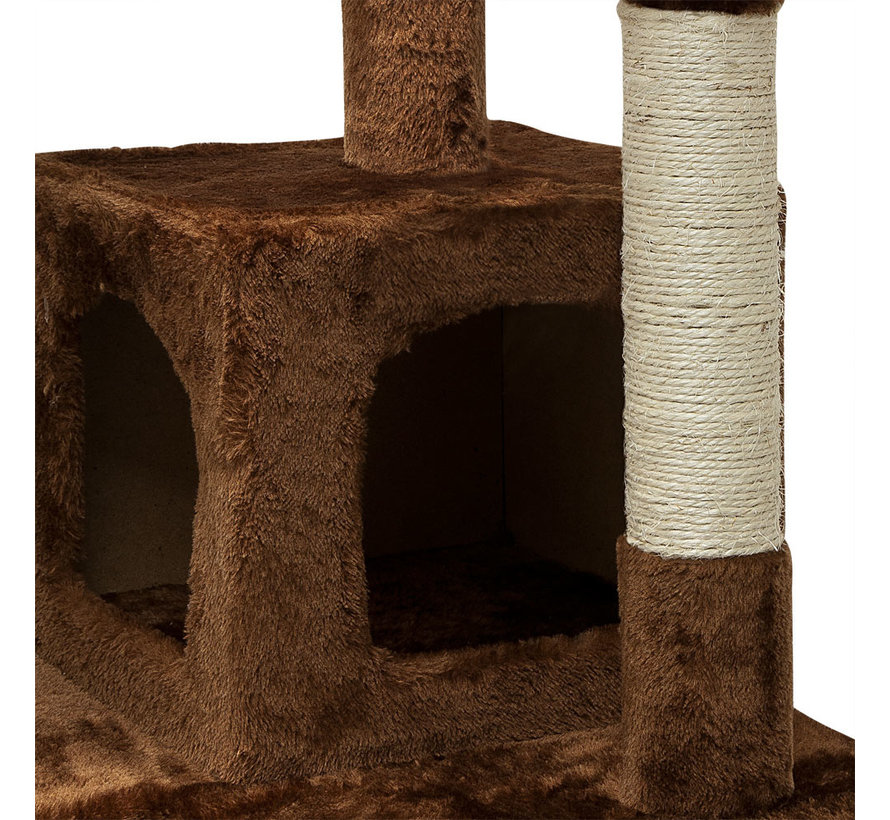 Deuba Kattenboom 175 cm Bruin