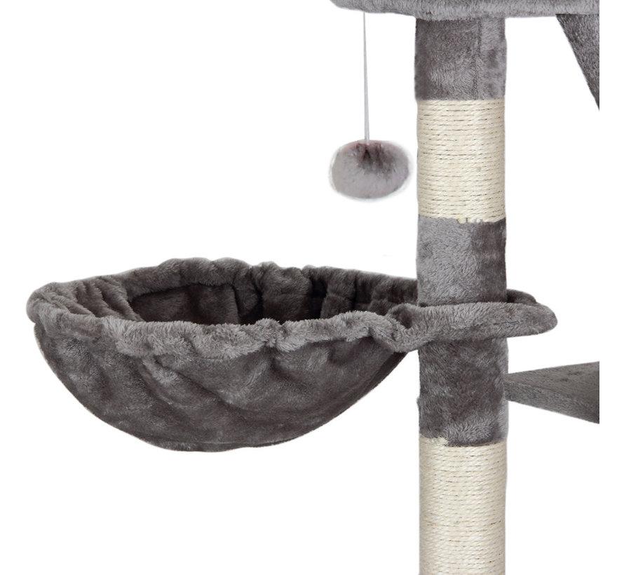 Deuba Kattenboom, plafondhoogte 240 - 260 cm grijs