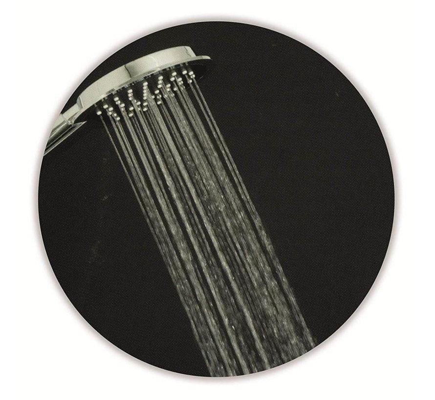 Douchekopset XL - Chroom - 2 stuks Bath & Shower - Hoofd Ø  23x10cm - Hand 10x9cm