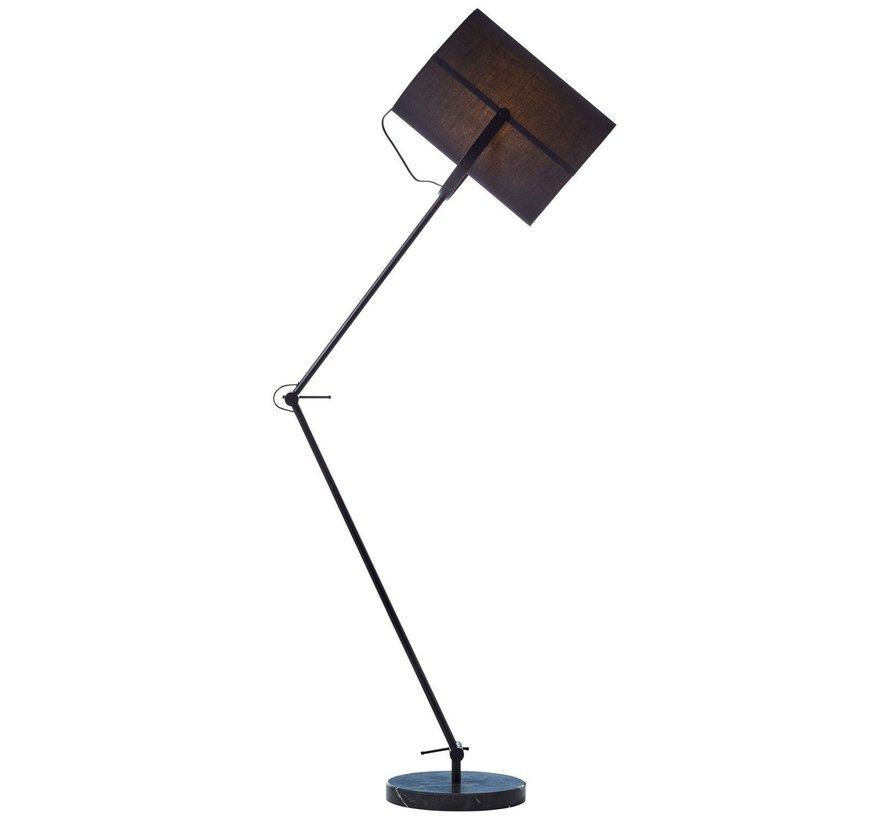 Brilliant lamp  vloerlamp - Draaibaar met voetschakelaar / kop