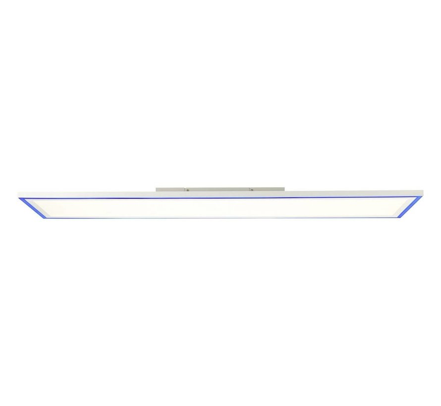 Brilliant lamp Lanette - LED plafondpaneel 120x30cm wit