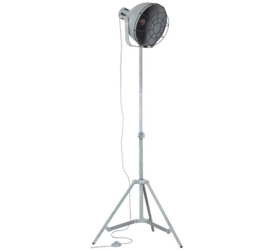 Brilliant JESPER Vloerlamp E27 Grijs