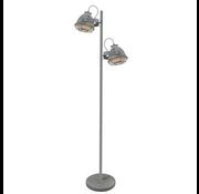 Brilliant Brilliant CARMEN Vloerlamp 2xE27 Grijs